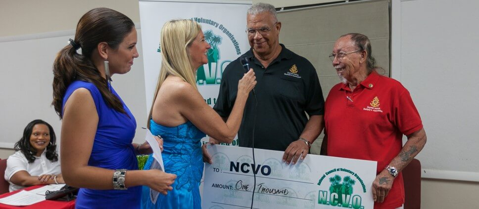 Cayman Island Seafarers Association donates to NCVO