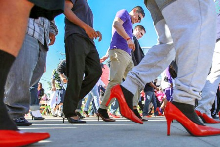 CISA donates to Cayman Crisis Centre - A walk in her shoes