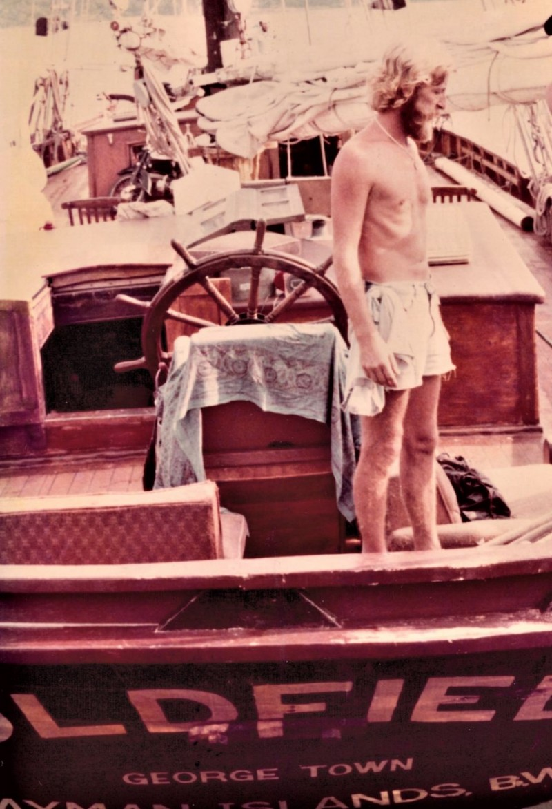 Goldfield 1983 onboard Chief Mate Kade