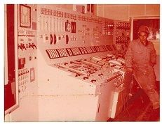 J. Andrew in Engine Control room on Universe Iran