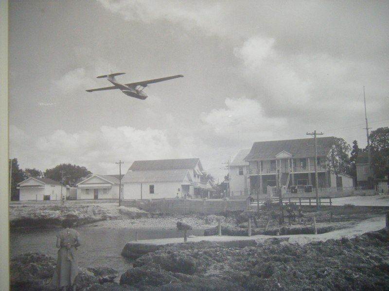 PBY Catalina Flying Boat over George Town