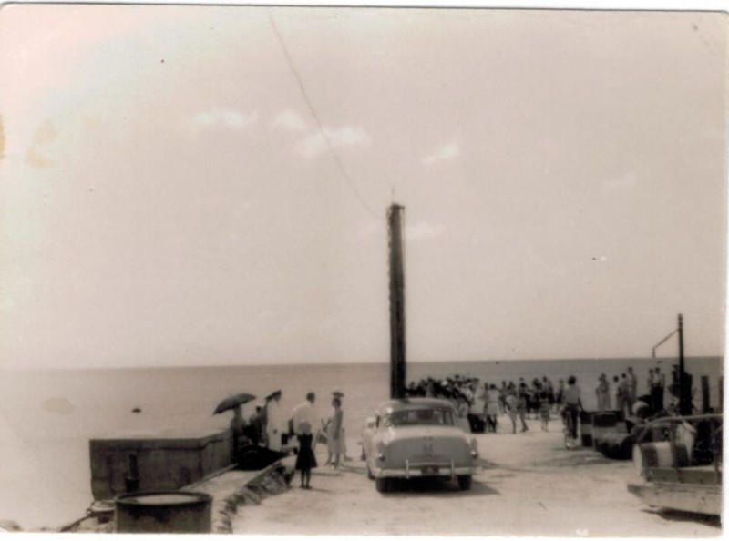 car at dock
